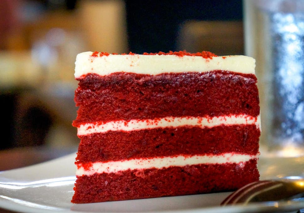 File image of red velvet cake.