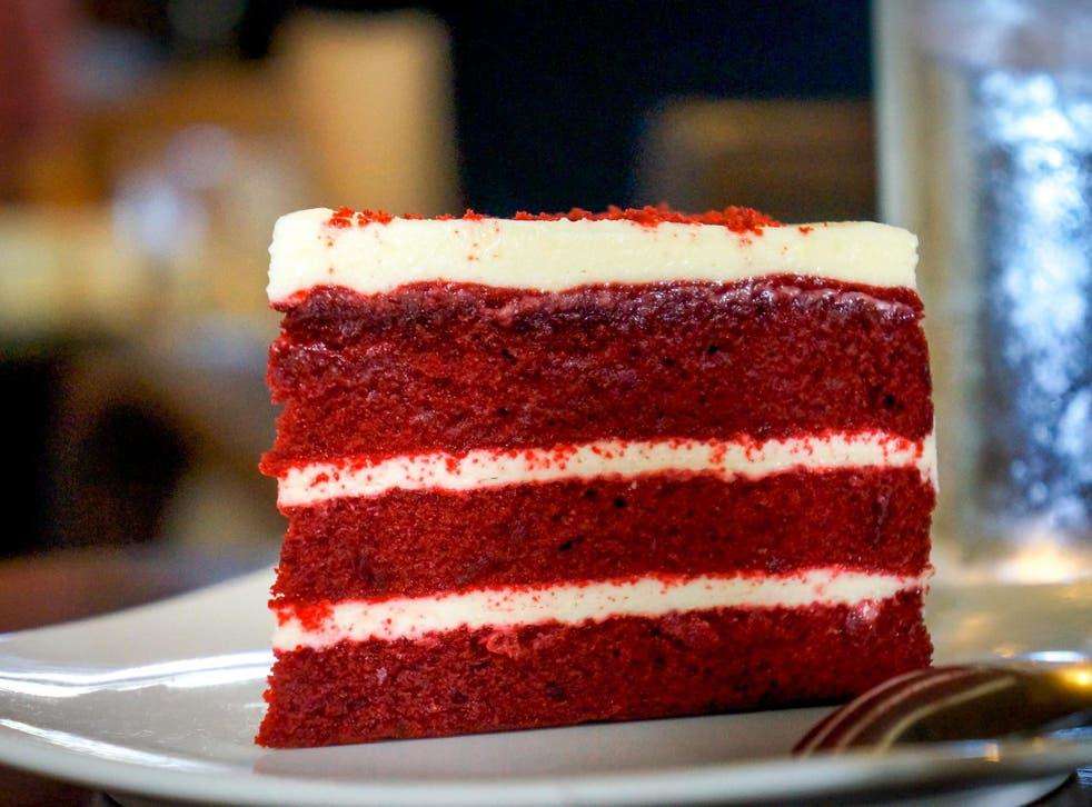 File image of red velvet cake.