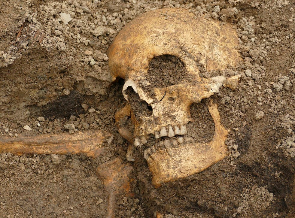 The archaeologists found the boat burials beneath a cellar and a well dating from the Middle Ages
