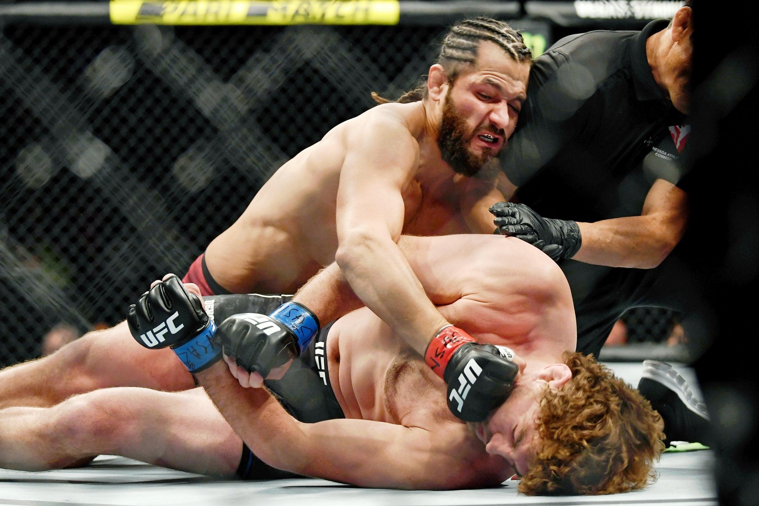 UFC 239: Jorge Masvidal promises to 'slap Ben Askren up in ...  UFC 239: Jorge ...