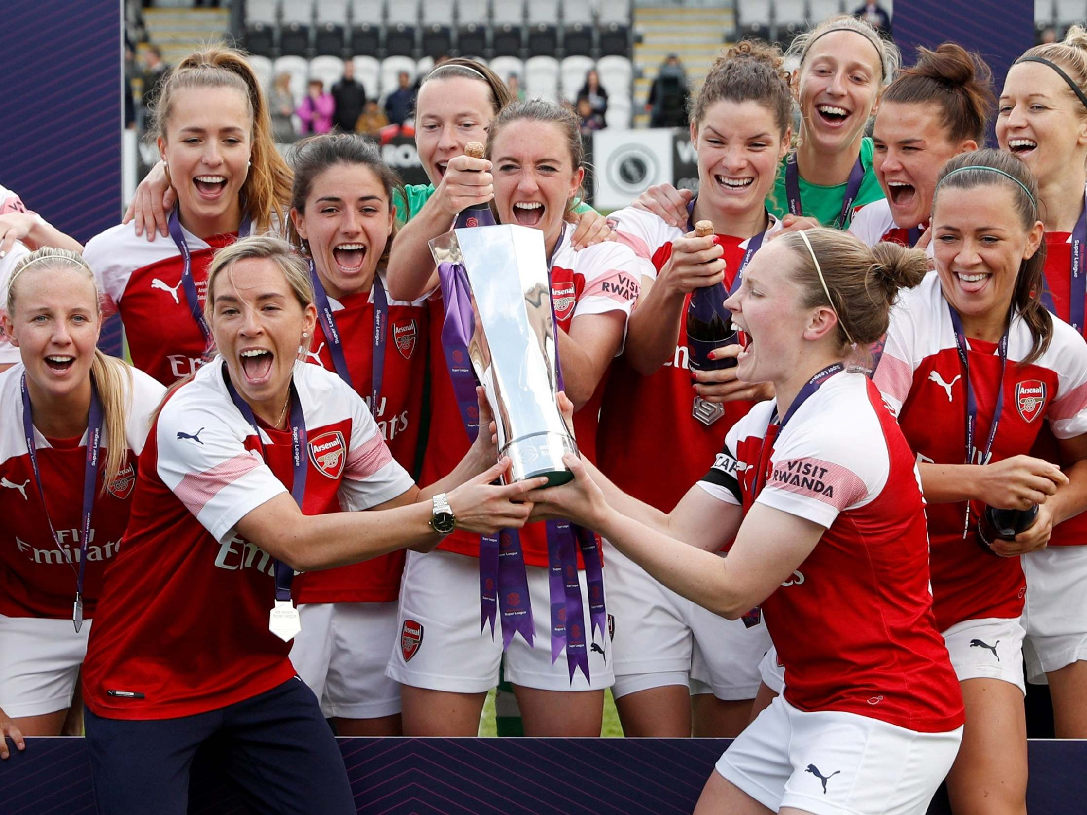 FA considering switching number of Women's Super League matches to Premier League stadiums