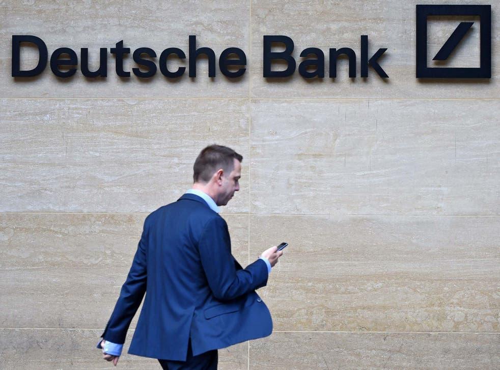 British headquarters of the German Deutsche Bank in London