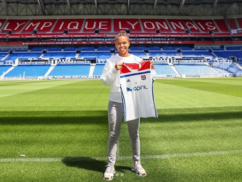 Nikita Parris: England forward excited by challenge of 'biggest club in the world' after Lyon transfer