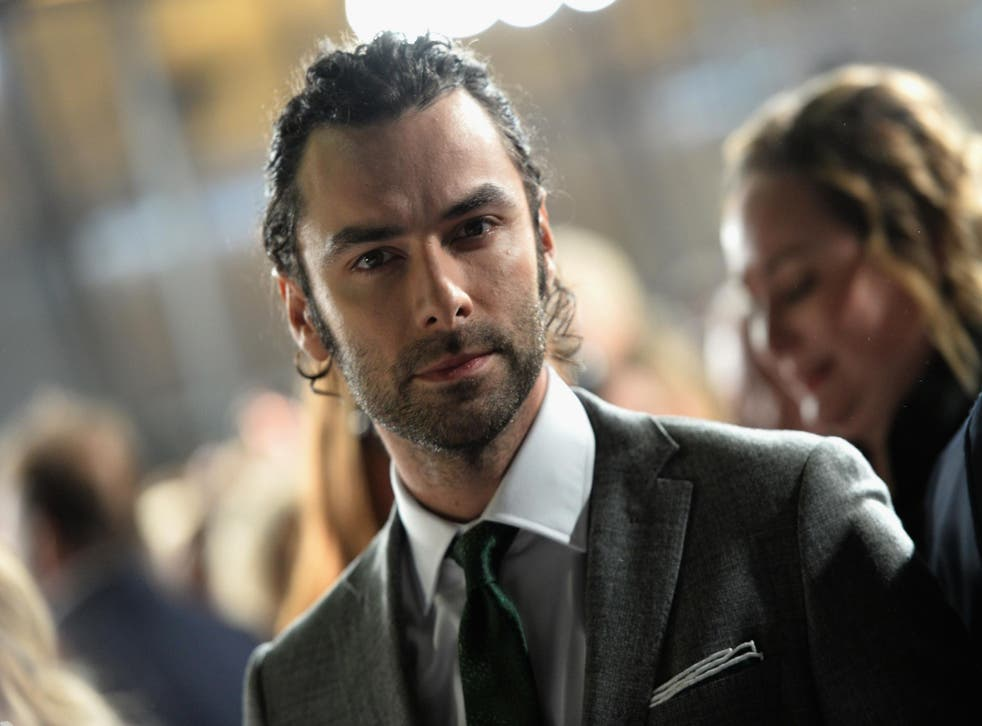 Aidan Turner attends the National Television Awards on January 25, 2017 in London, United Kingdom.