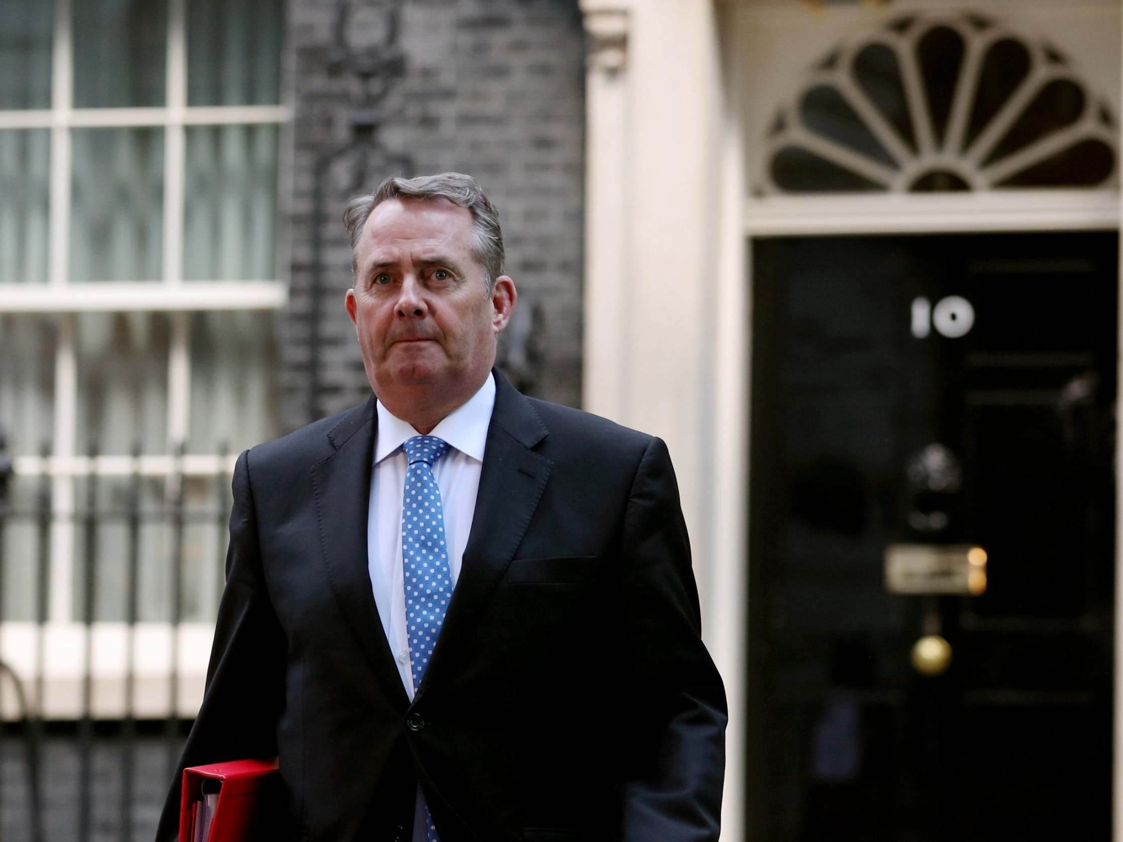 US says Brexit trade talks with Liam Fox cancelled amid mounting fur…