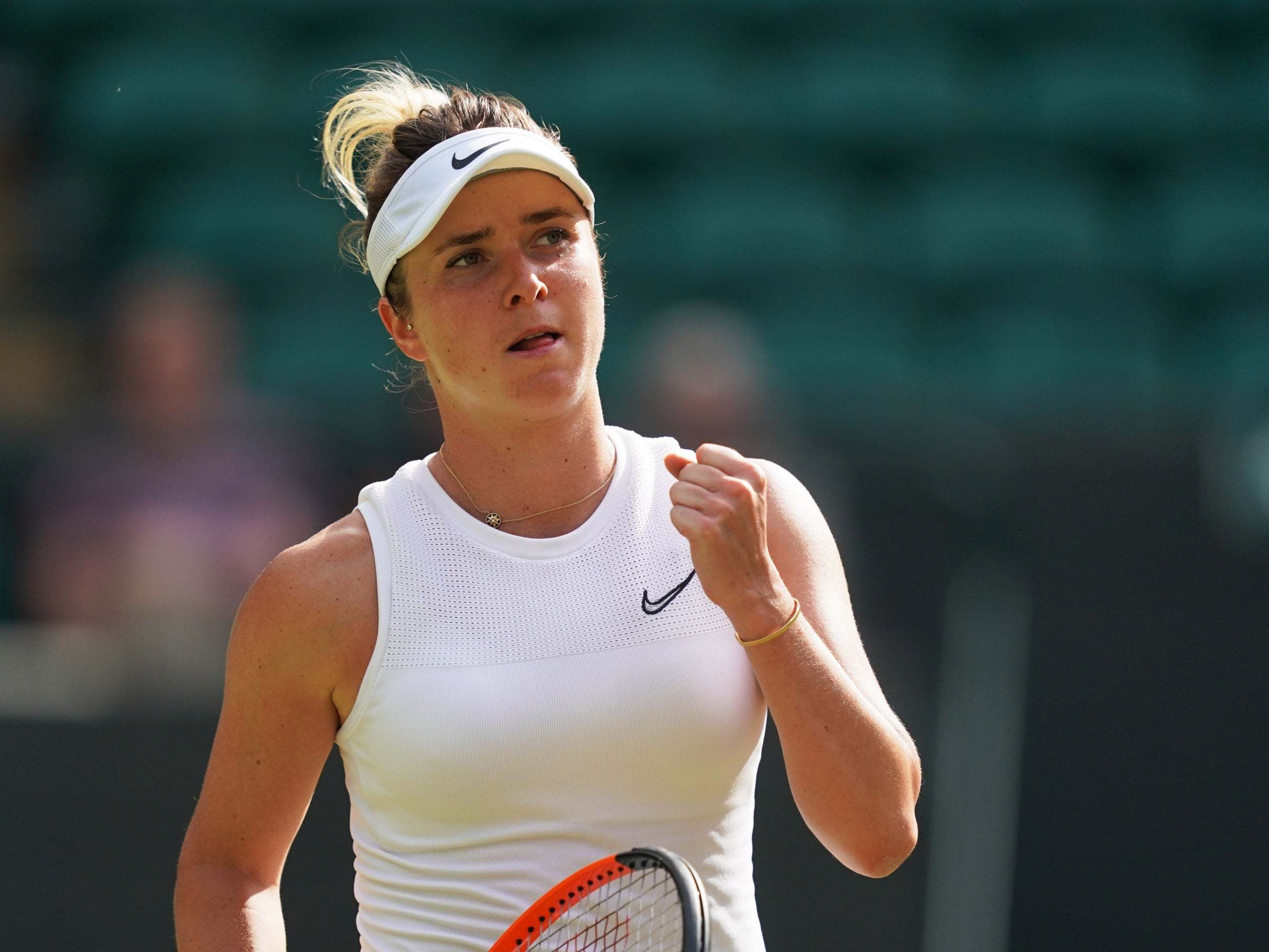 Wimbledon 2019: Elina Svitolina edges Karolina Muchova to book semi-final against Simona Halep