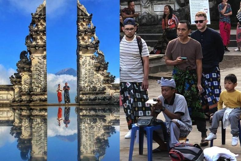 Tourists disappointed after finding out popular Bali destination is 'faked' for Instagram