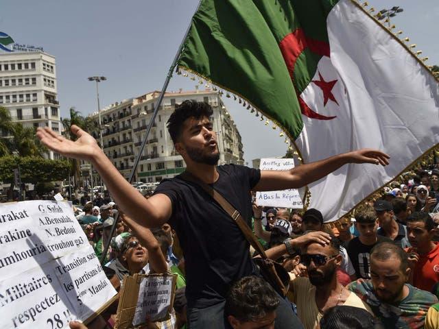 Related: Algerians celebrate Bouteflika's resignation in April 2019