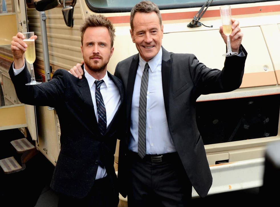 Bryan Cranston and Aaron Paul announce mezcal collaboration (Getty)