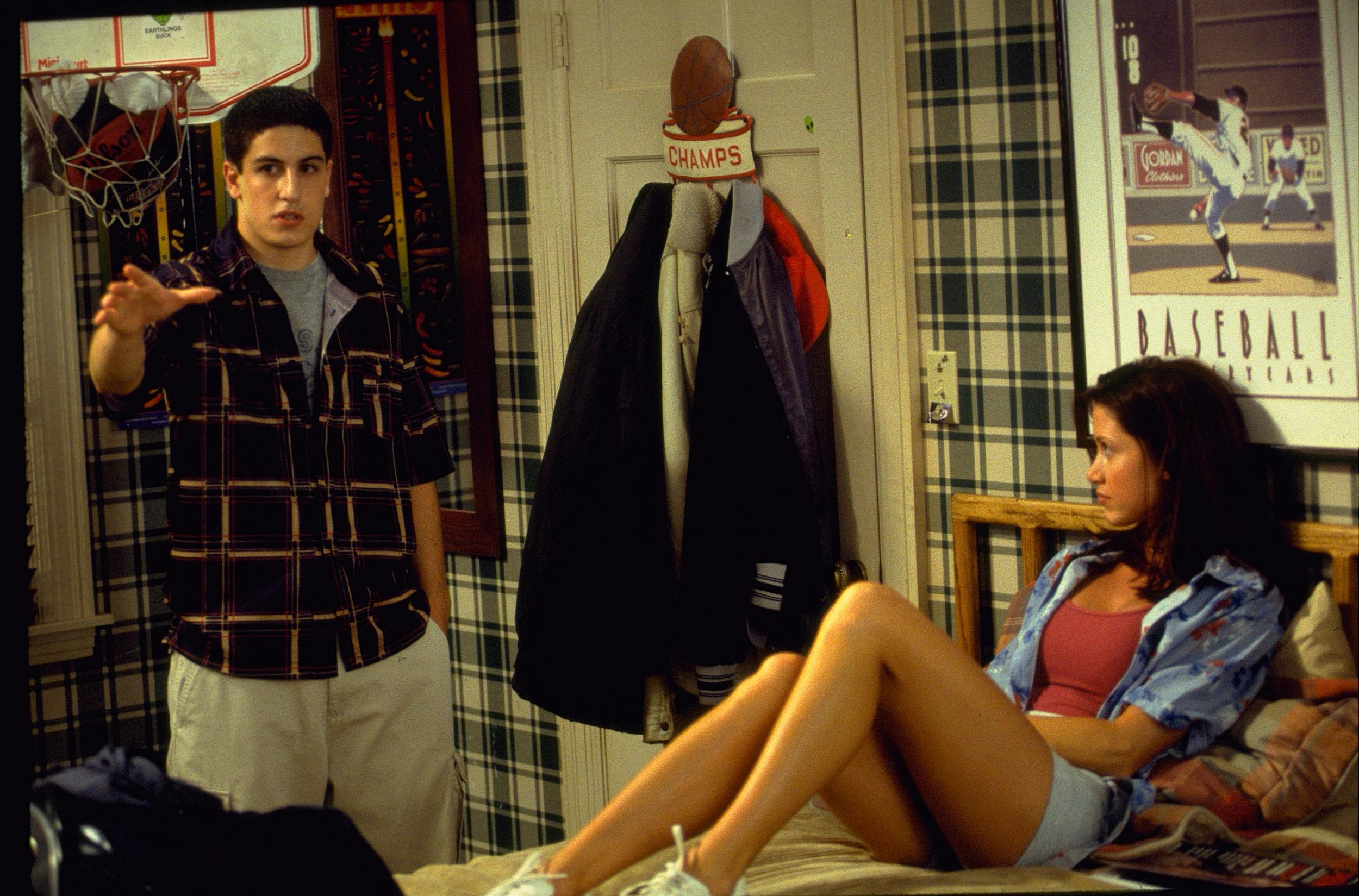 American Pie Uncensored Video american pie star reflects on film's most iconic scene post