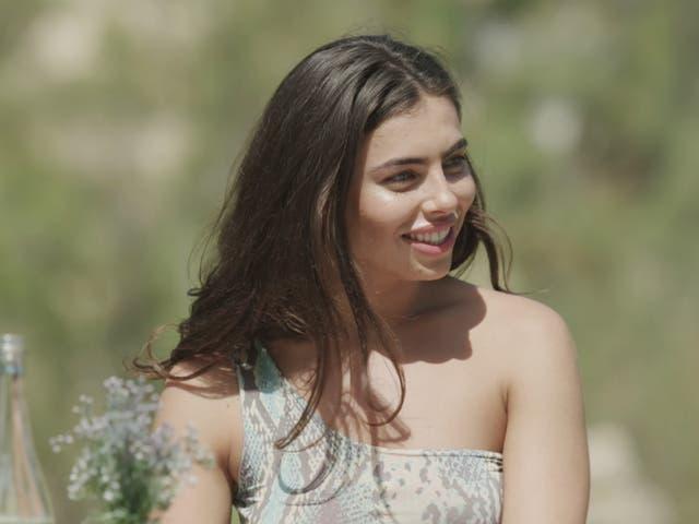 Francesca Allen on Love Island