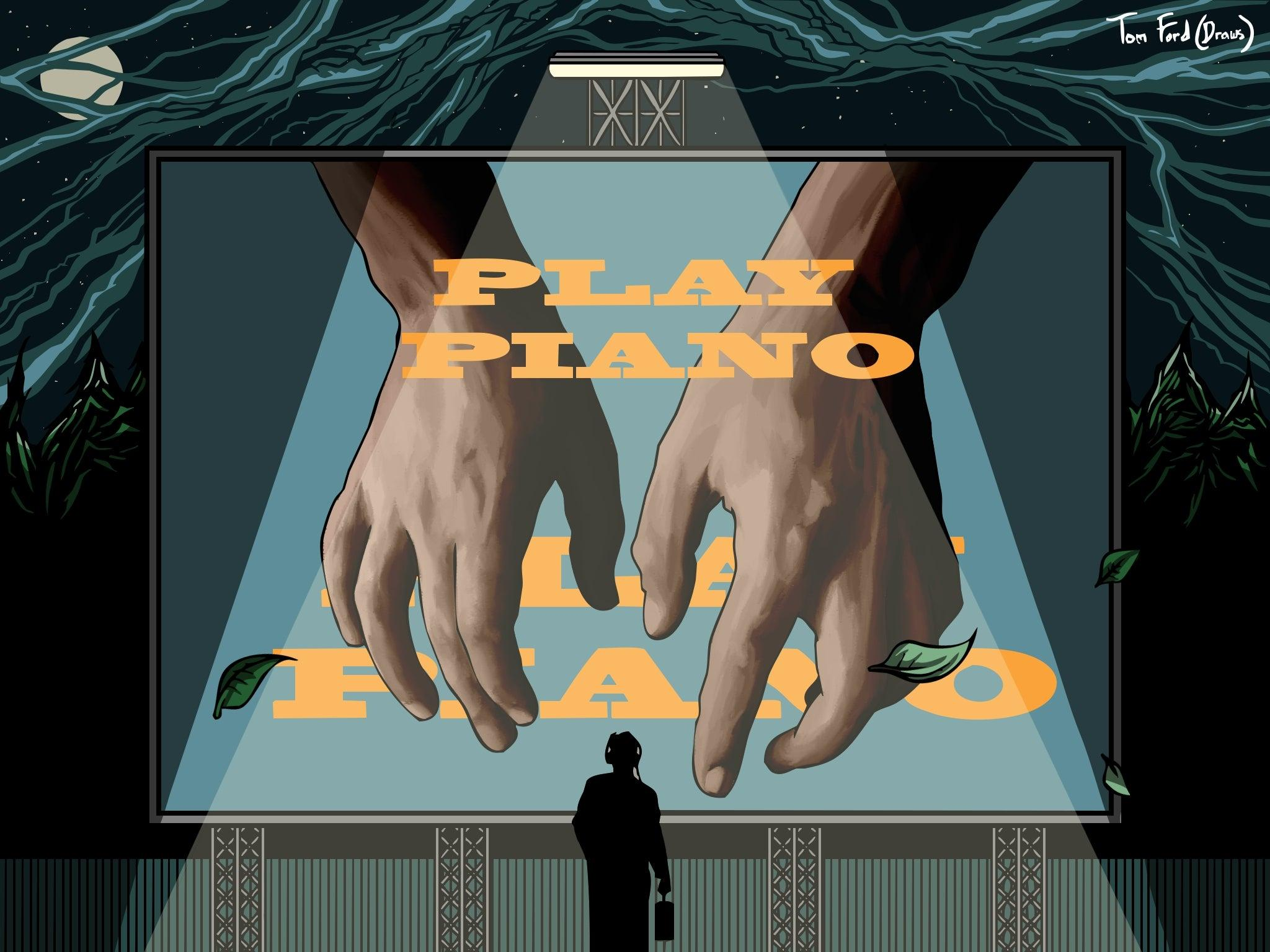 An intense relationship with the piano