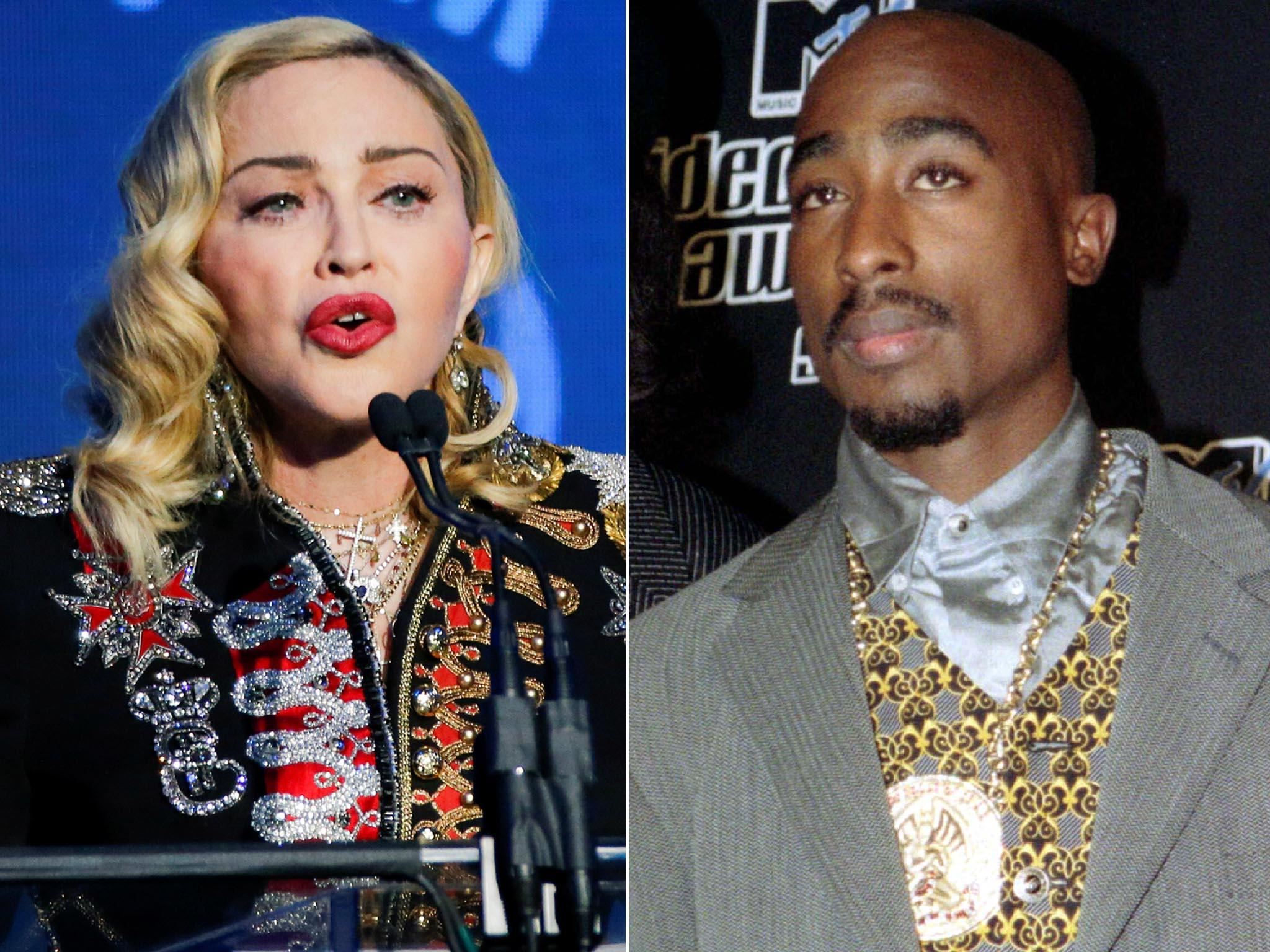 Tupac's break-up letter to Madonna goes to auction, starting