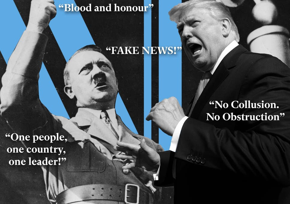 Image result for trump as nazi free pics