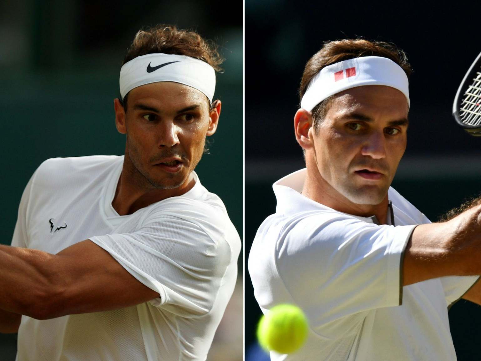 Roger Federer vs Rafael Nadal: Icons meet in Wimbledon clash of contrasts