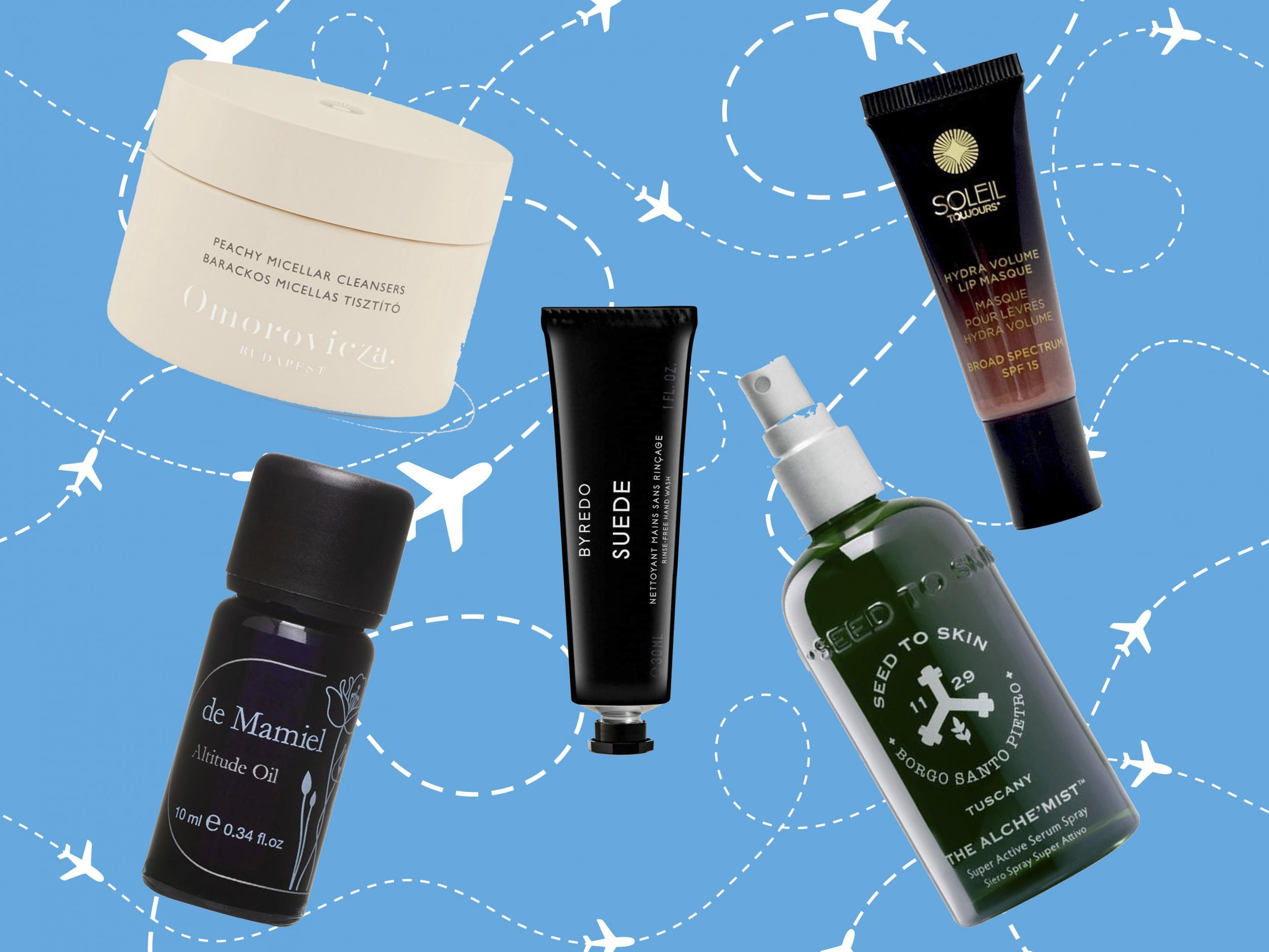 Best in flight skincare for long haul travelling that will