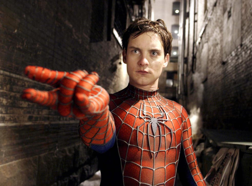 Tobey Maguire as Peter Parker in Sam Raimi's 'Spider-Man 2'