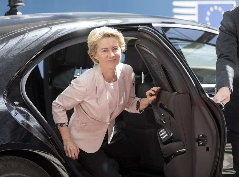Nominee President of the EU Commission Ursula von der Leyen