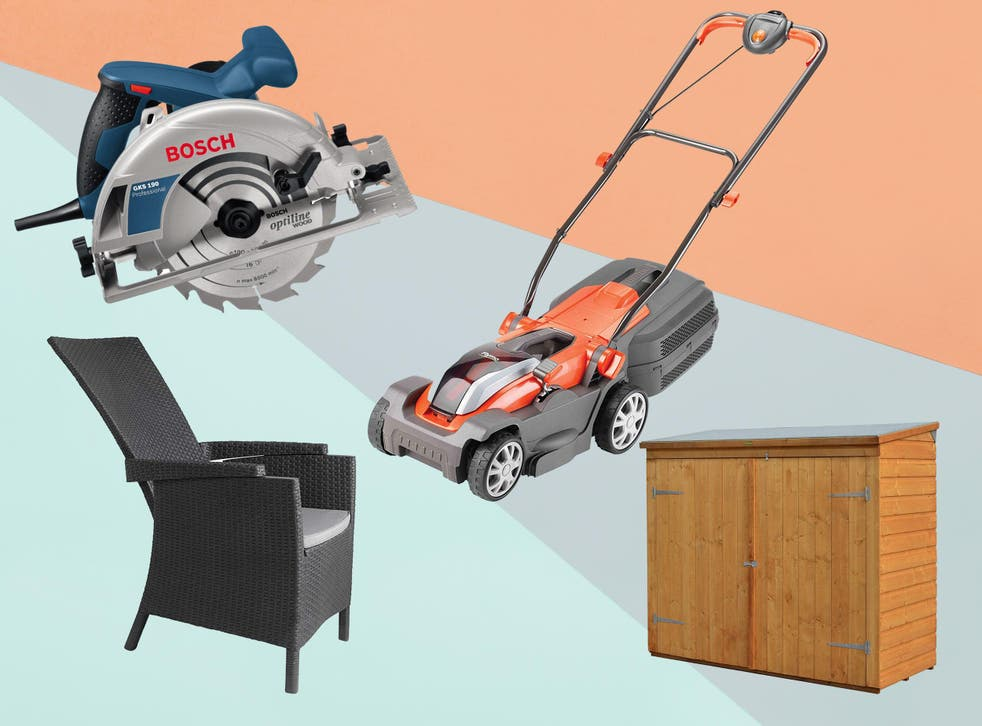Get your home and garden summer ready with some brilliant deals on appliances, from lawnmowers to deckchairs