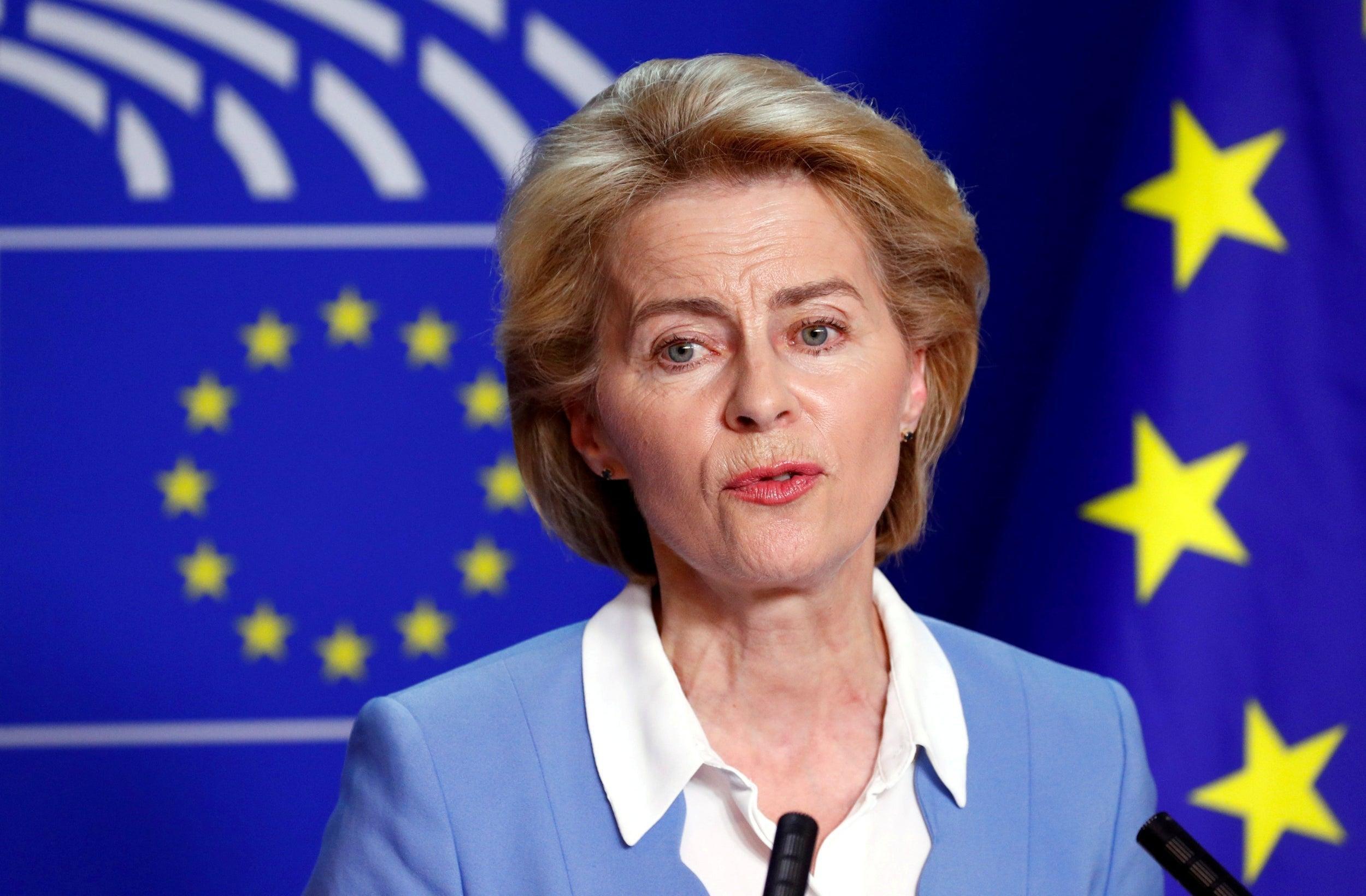 Politicians in Romania welcome the election of Ursula Von ...  |Ursula Von Der Leyen