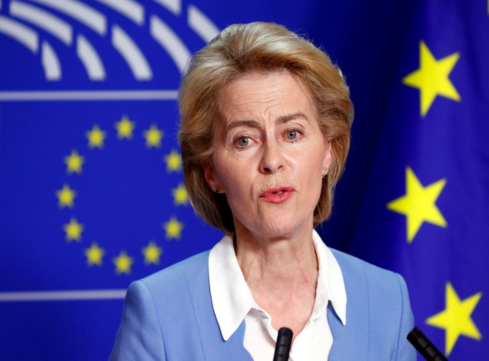Ms von der Leyen is struggling to gain enough votes to become the first woman to lead the EU's bureaucracy