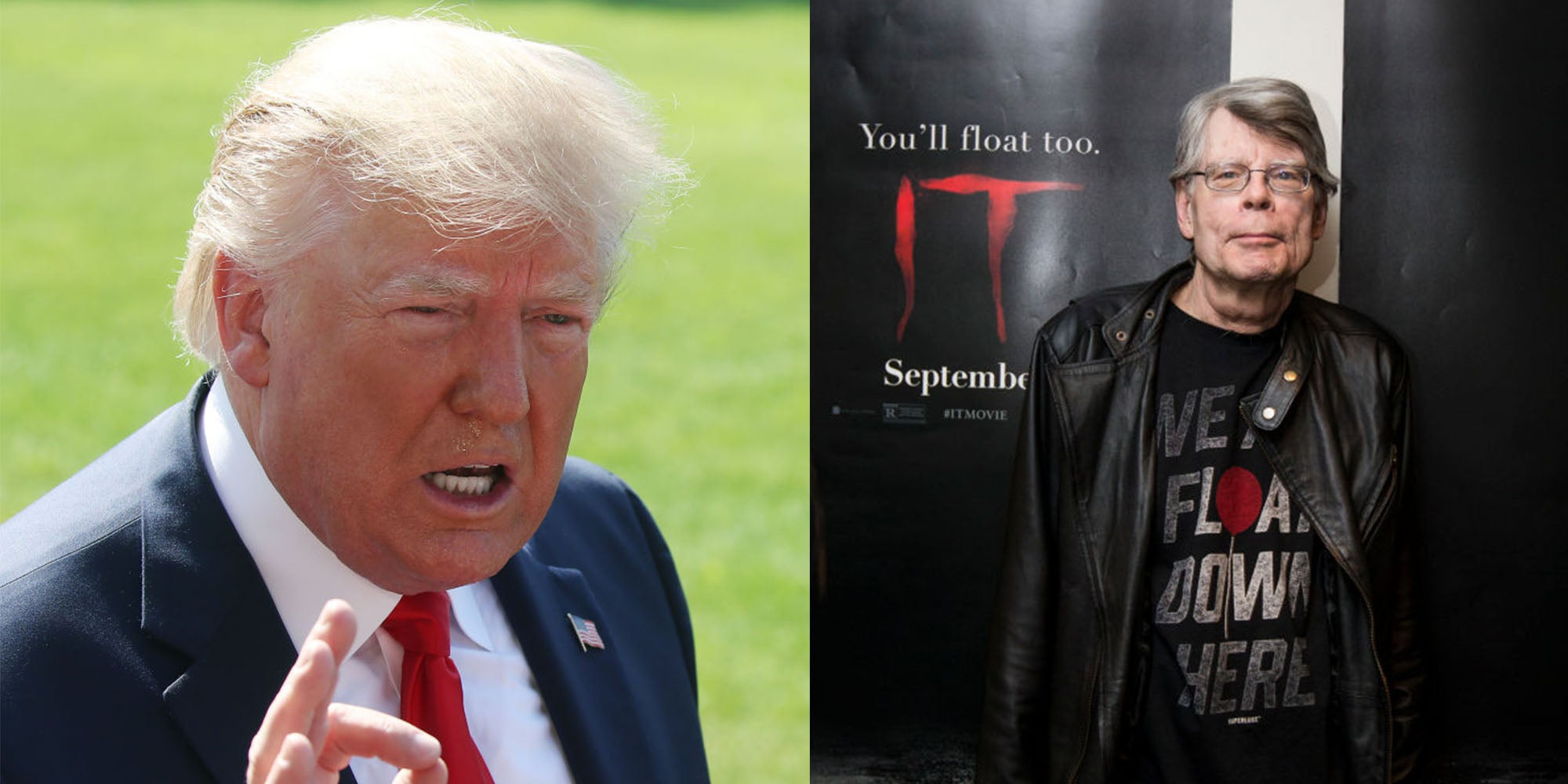 Stephen King thinks Trump is 'scarier' than his books, even the novel foreshadowing his presidency