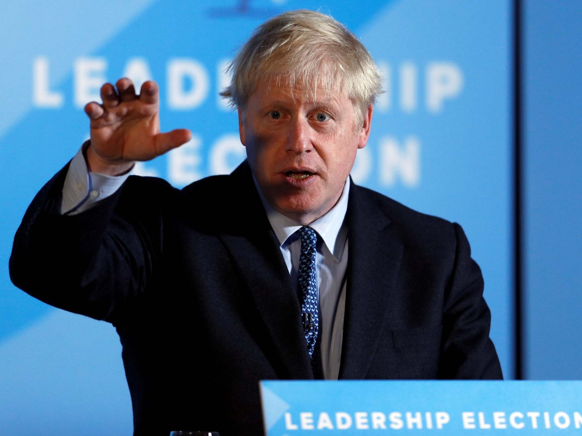 Tory leadership debate - live: Boris Johnson 'absolutely' rules out holding general election before Brexit happens