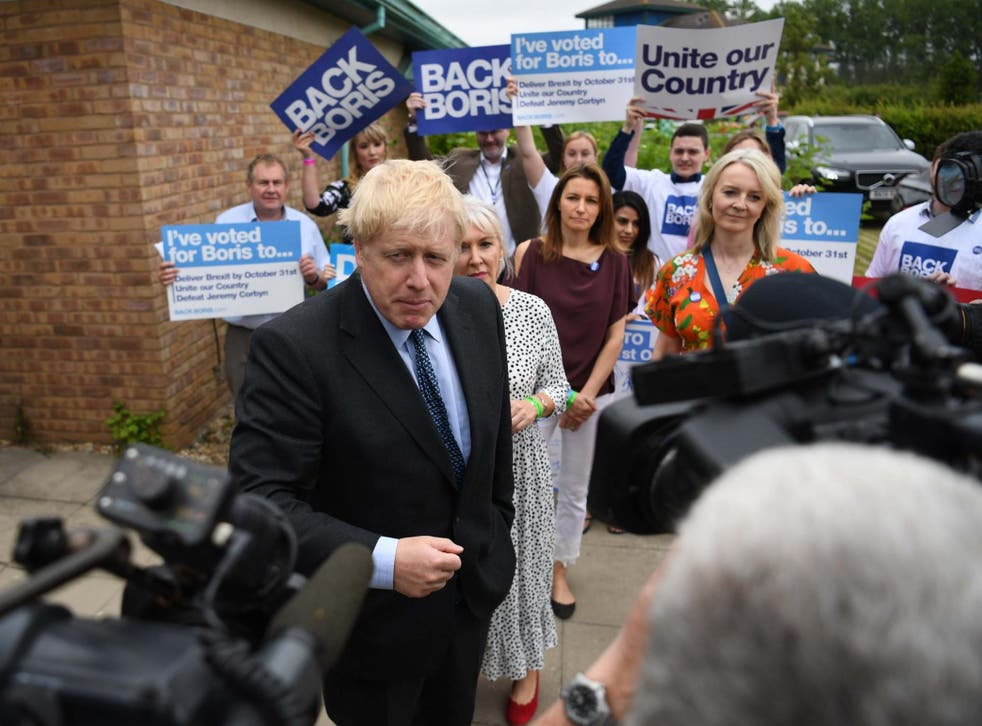 Boris Johnson has said he would take the UK out of the EU on 31 October 'do or die' (EP