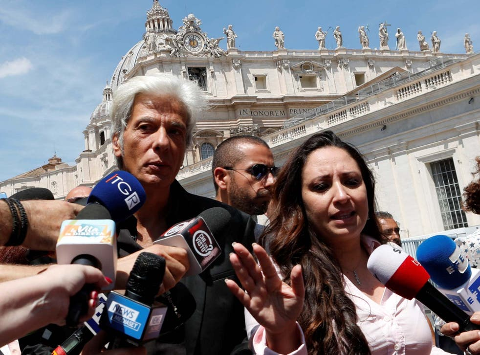 Emanuela Orlandi's brother, Pietro, has campaigned for full access to all information the Vatican has on his sister's disappearance