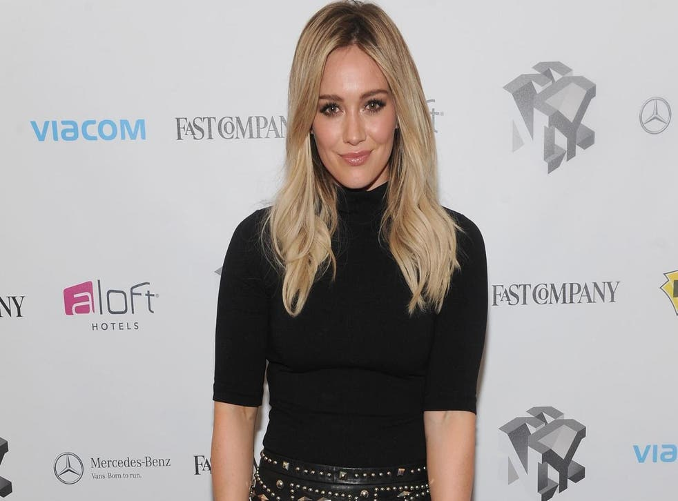 Hilary Duff opens up about being a young mother (Getty)