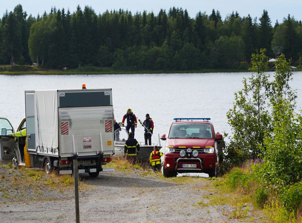 Nine people died when a small aircraft being used for tourism crashed in northwest Sweden, the regional authority said