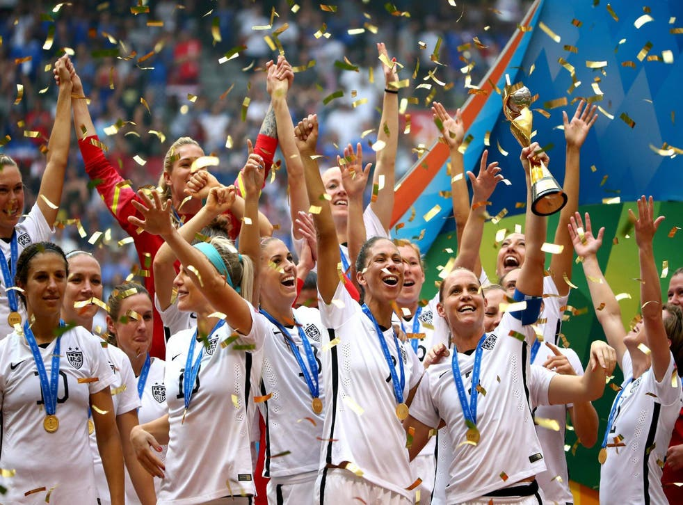 Secret deodorant pledges thousands to support US Women's soccer team in fighting pay gap (Getty)