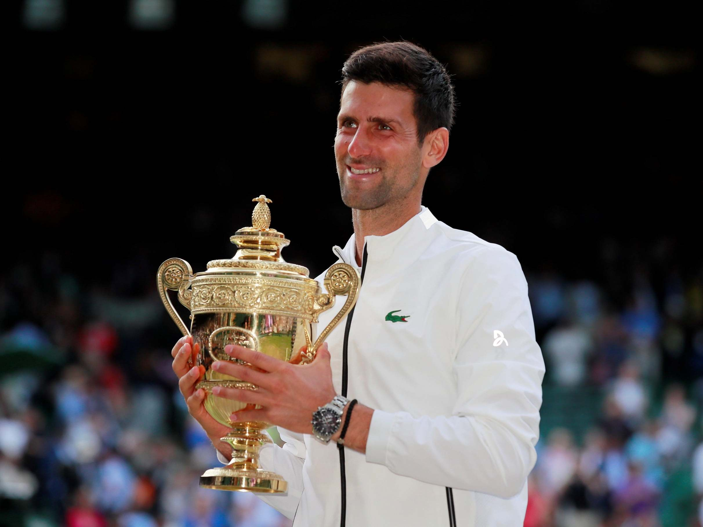 Wimbledon 2019 Novak Djokovic Beats Roger Federer To Retain Sw19 Title In Five Set Classic The Independent The Independent