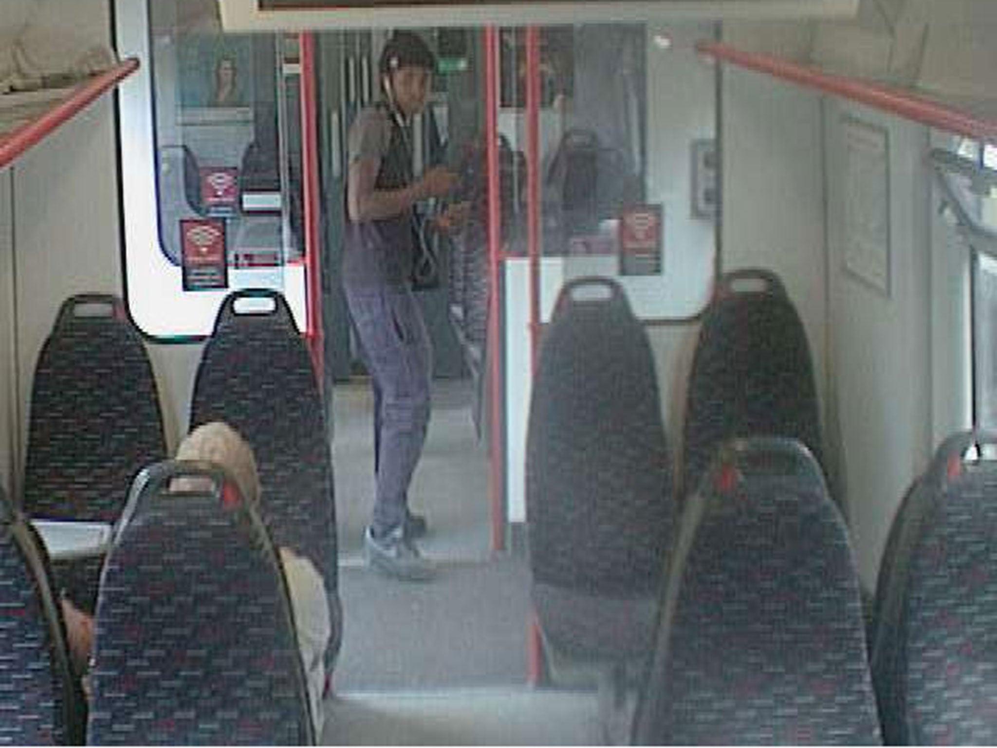 Police hunting man who 'pulled gun on train passenger during mugging…