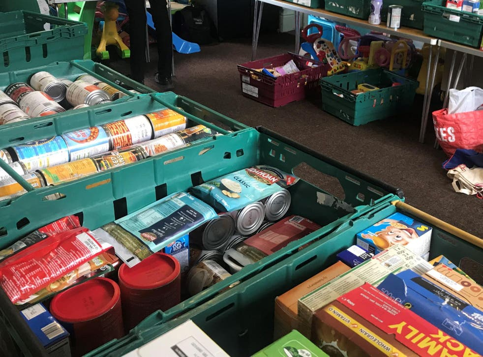 Figures published by the UK's largest food bank provider show 87,496 food parcels went to children during the summer holidays last year