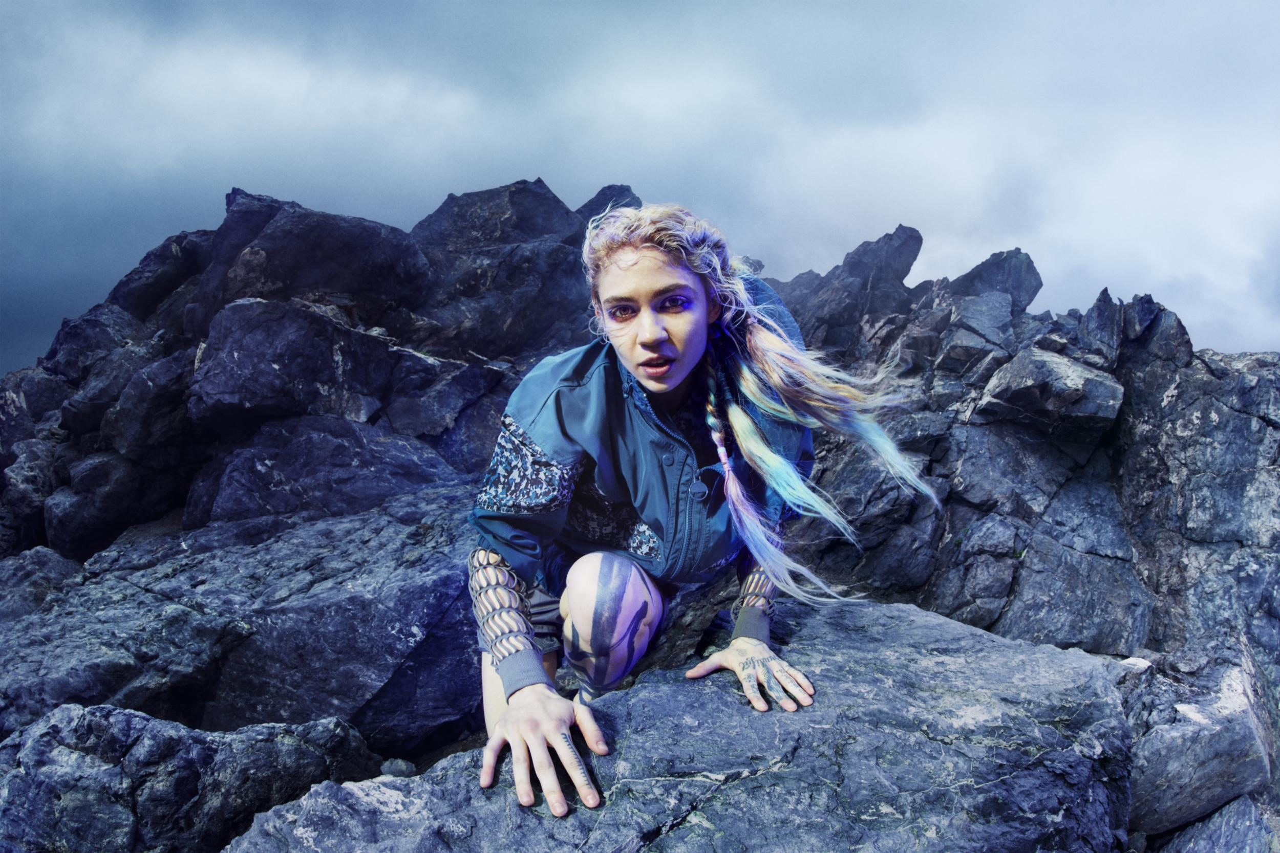 Grimes revealed as face of adidas x Stella McCartney