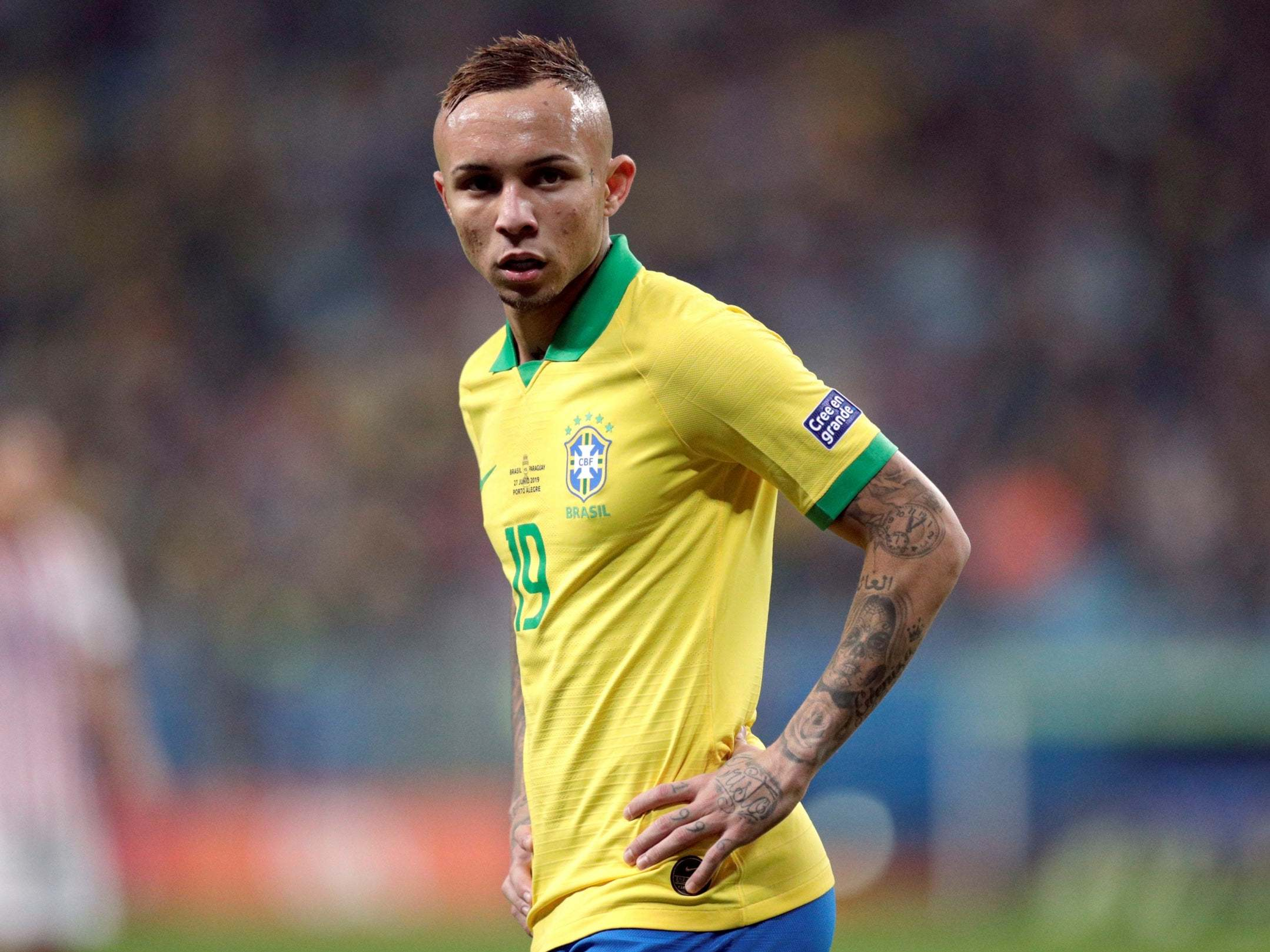 Arsenal transfer news: Everton Soares, Wilfried Zaha, Kieran Tierney, Dani Ceballos, William Saliba latest