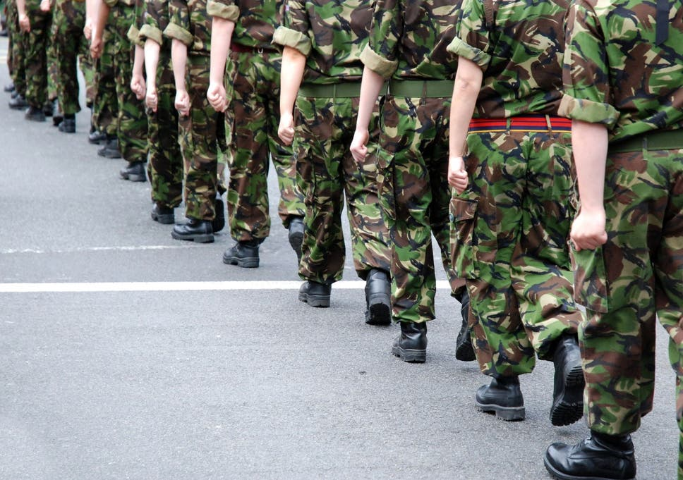 White middle-aged men' leading armed forces blamed for