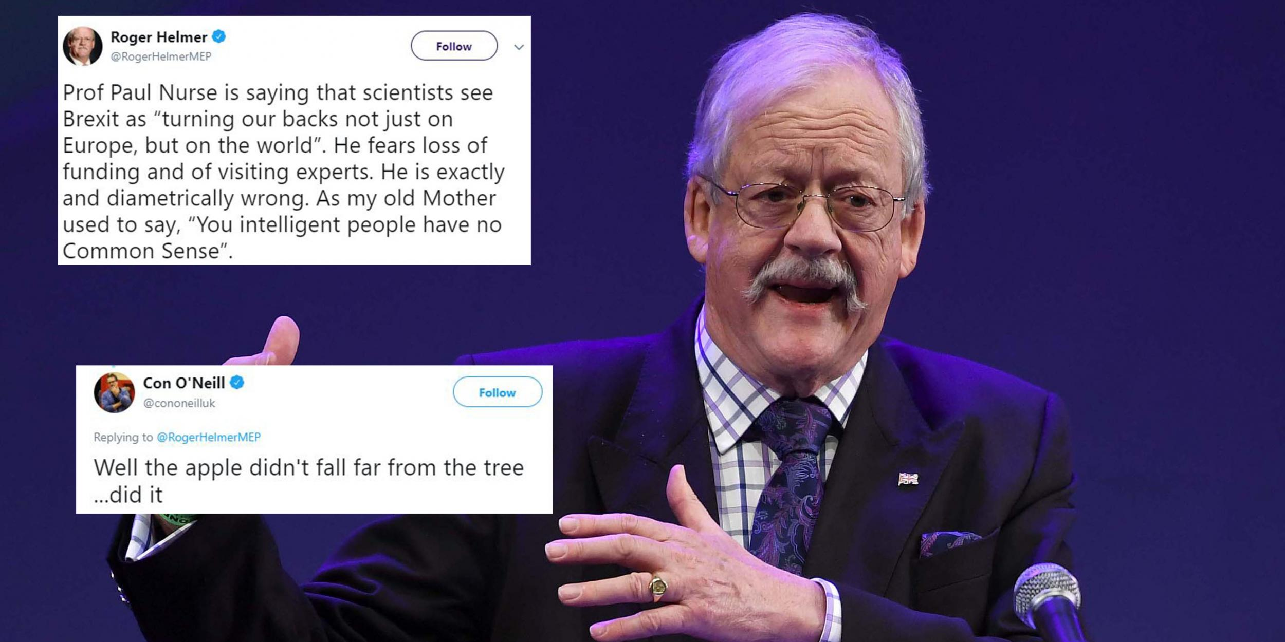 A Brexiteer tried to take on a Nobel Prize-winning scientist and it didn't end well