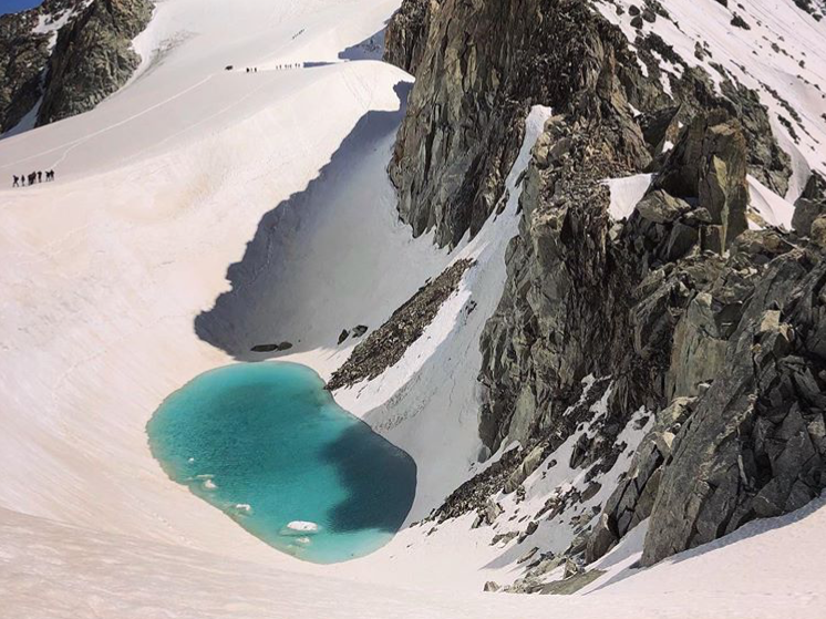 Lake discovered 11,000ft high in the Alps, in 'truly alarming' sign …
