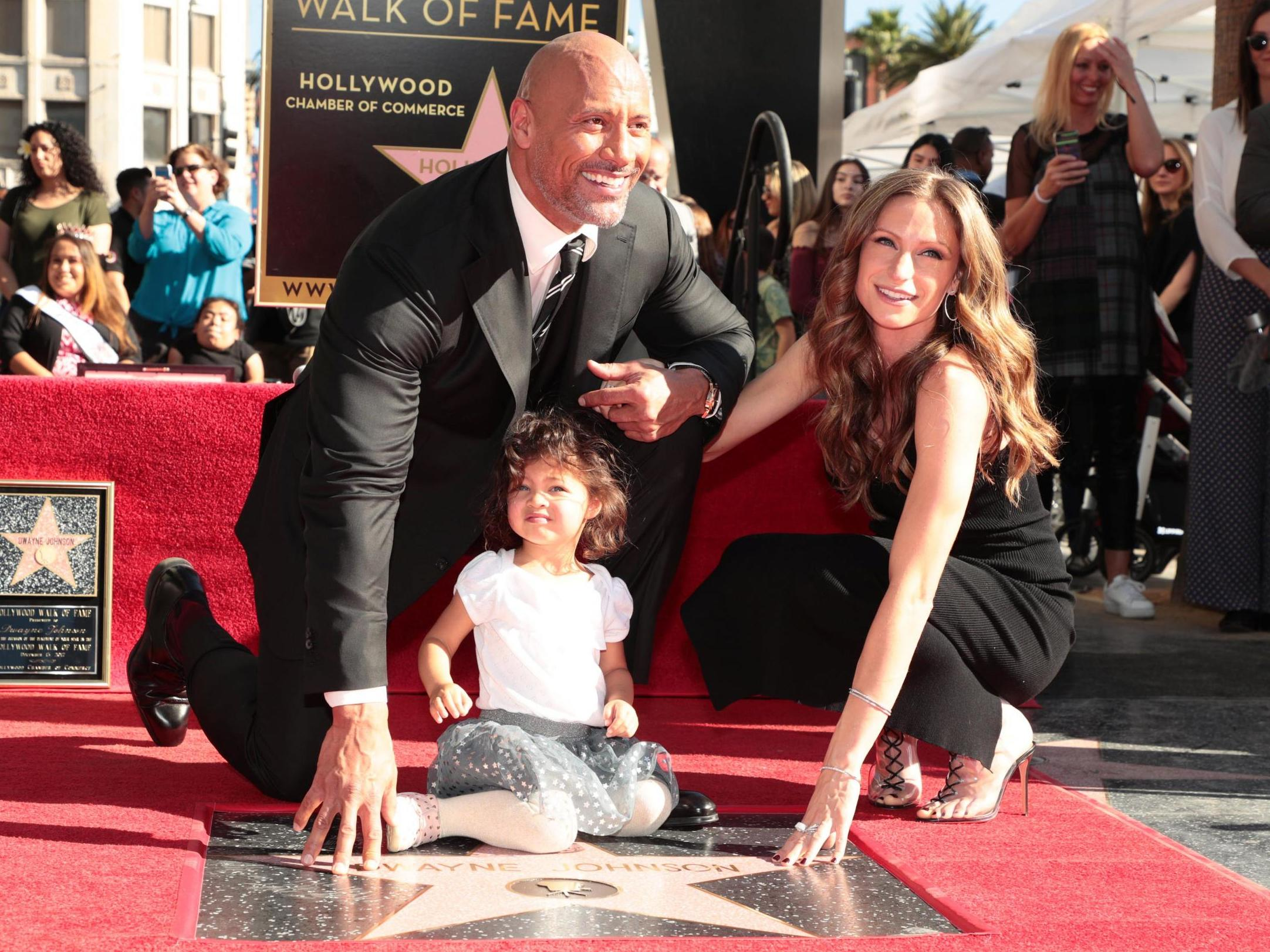 Dwayne Johnson says living in a house with 'badass women' is 'terrif…