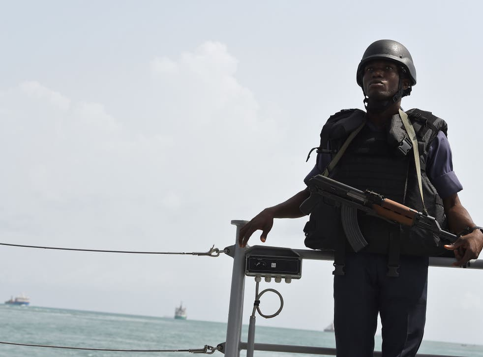 The Gulf of Guinea has been described as the most dangerous area in the world for piracy