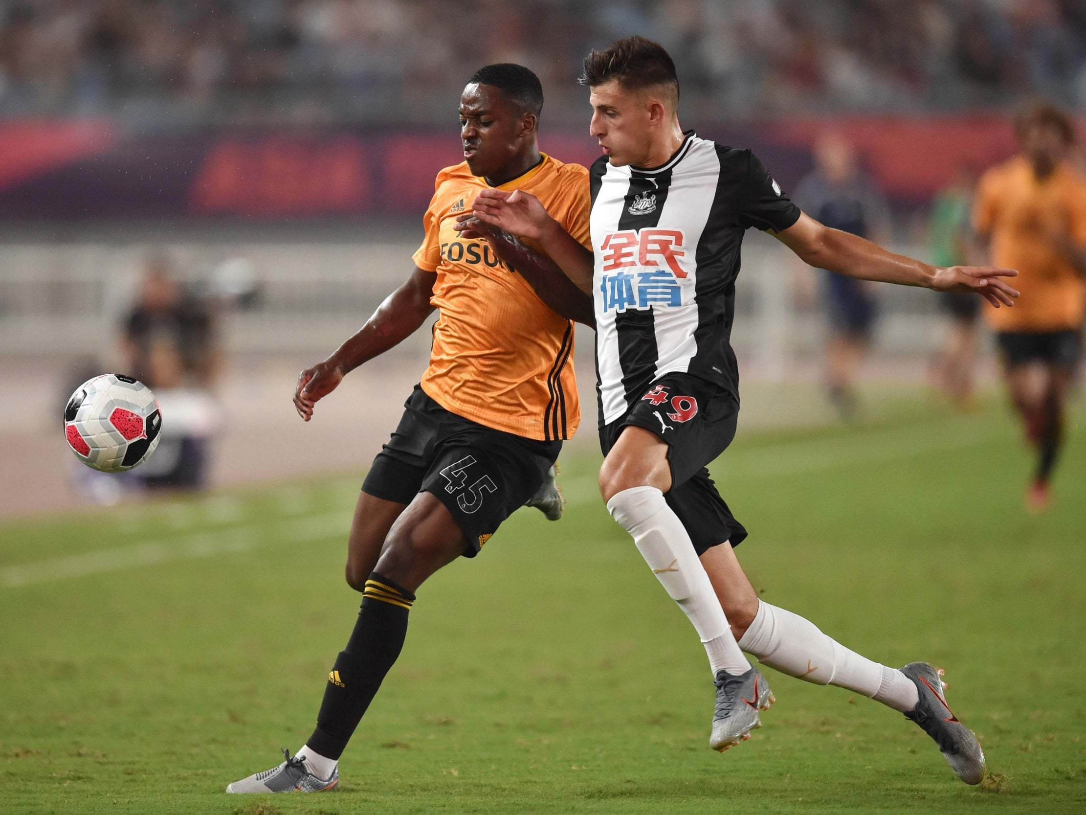 Newcastle 0-4 Wolves: Thrashing in China reveals the extent of Steve Bruce's task as new manager