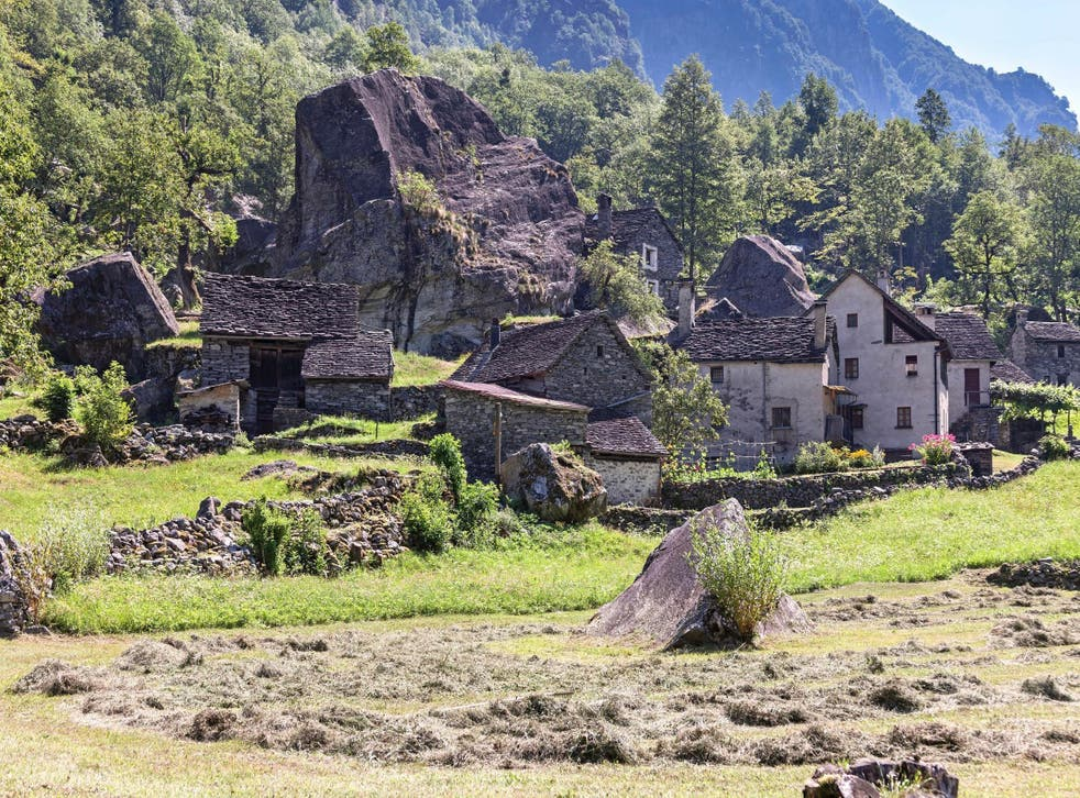 A Swiss village is looking to sell homes for 92p (Stock)