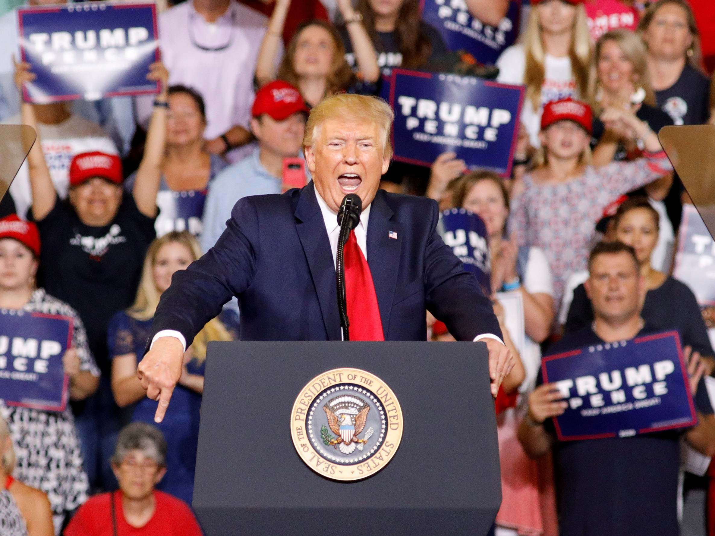 Don't be fooled, the chilling 'send her back' chants at Trump's rally were no isolated incident