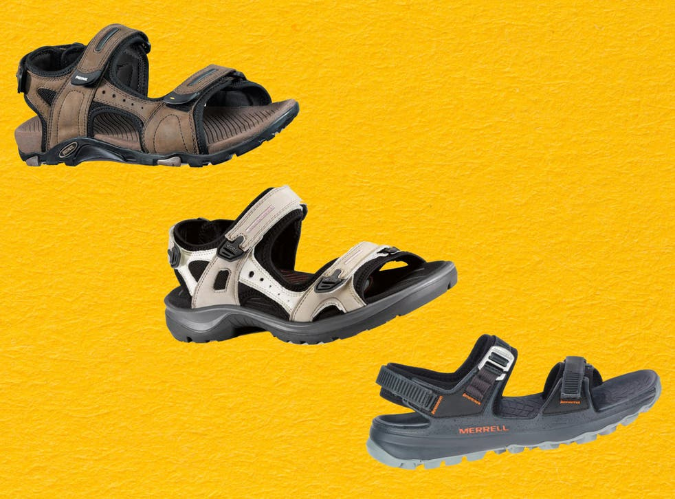 Any hiking sandal worth its salt will have at least two – quite often three – adjustable straps, which will keep the shoes firm on your feet, thus avoiding blisters