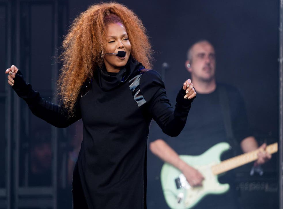 Janet Jackson performs on day four of the Glastonbury Festival on 29 June, 2019 in Glastonbury, England.