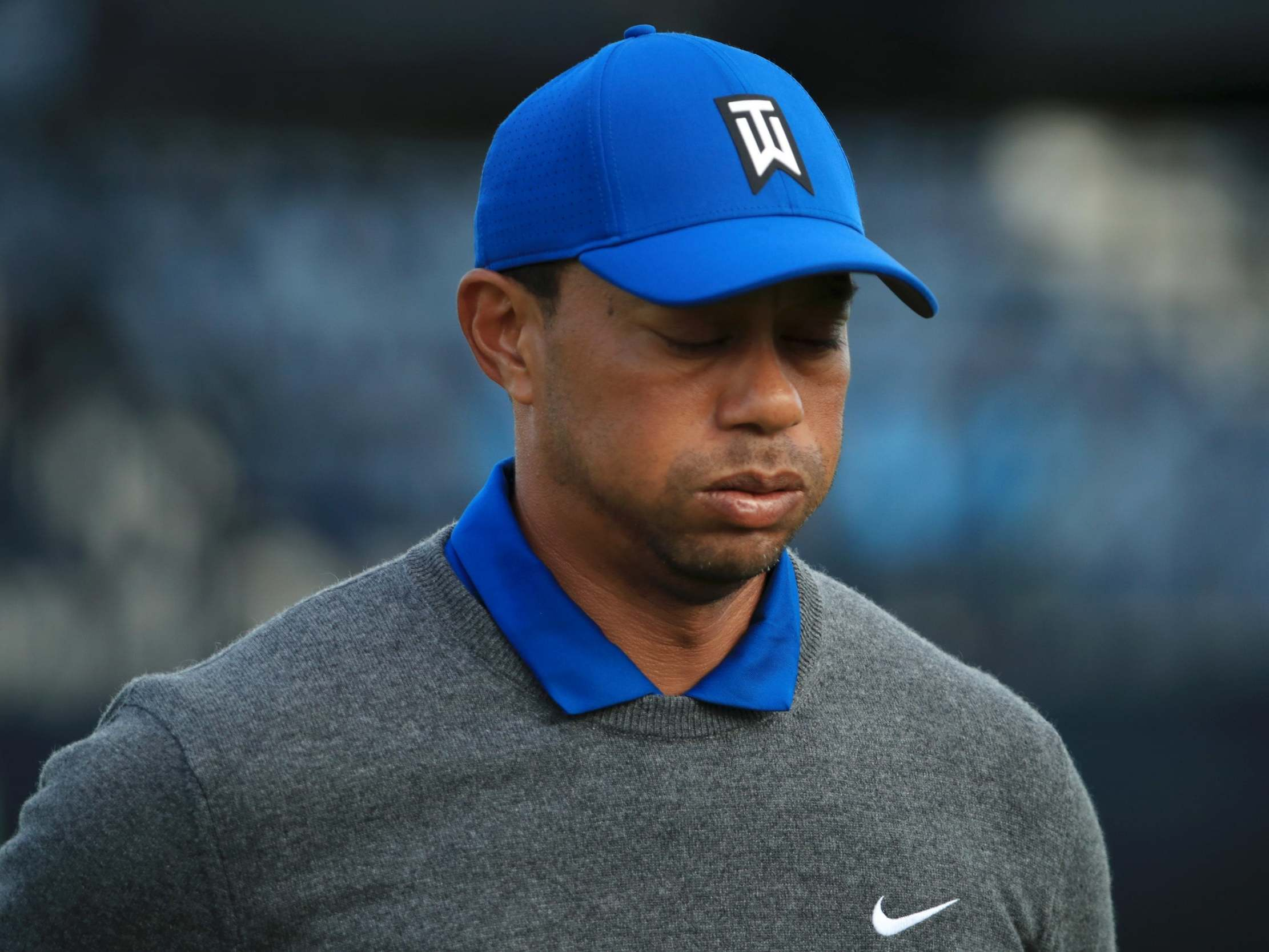 The Open 2019: Tiger Woods heads straight to physio after admitting 'I'm sore' following opening round