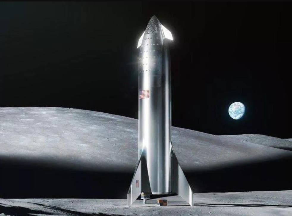 The Starship space craft built by SpaceX could land on the moon by 2021, Elon Musk claims