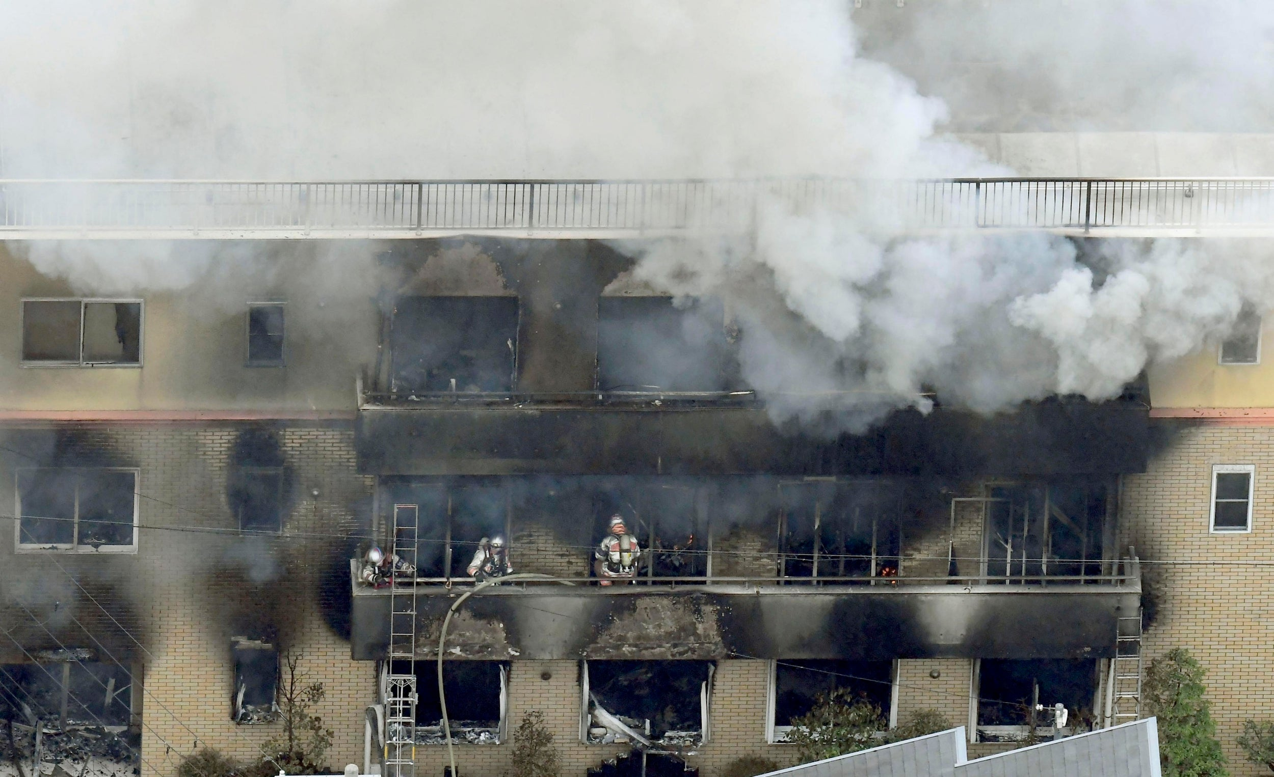 Kyoto Animation fire: At least 33 dead in arson attack by man